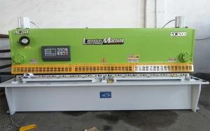 苏州QC11K-6x3200数控液压闸式剪板机