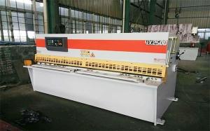 上海QC12K-4X2500数控摆式剪板机