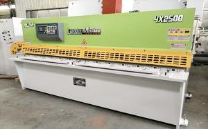 上海QC12K-4X2500数控液压摆式剪板机